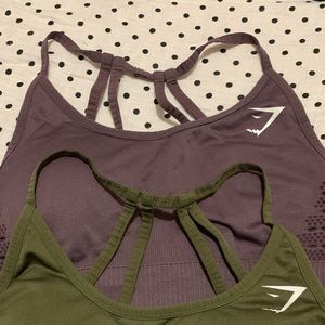 Gymshark seamless bra purple